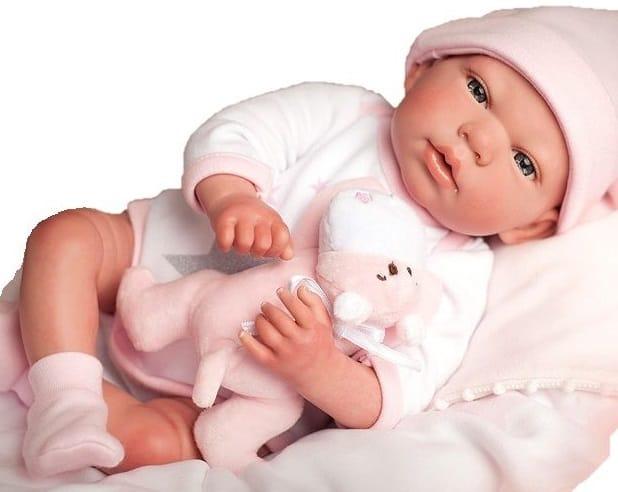 Muñeco Reborn Rosa