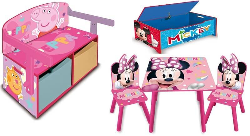 Donde comprar pupitres Infantiles de Madera Disney